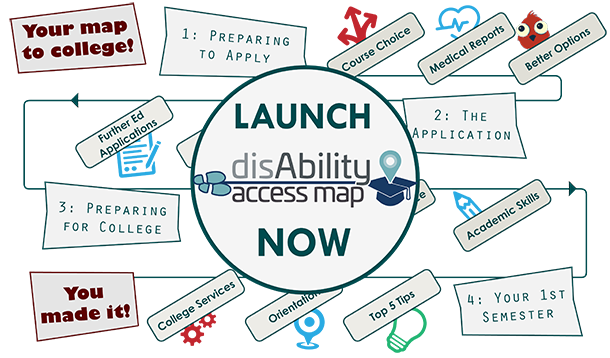 Launch Disability Access Map - if you are a screen reader user, go to the accessibility section on this page and download the tagged document version instead.