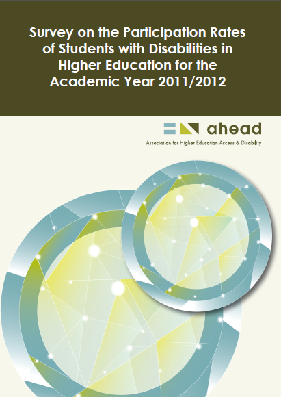 Survey: Participation Rates of Students with Disabilities in Higher Education - 2011/2012 (PDF)