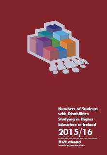 Numbers of Students with Disabilities Studying in Higher Education in Ireland 2015/16