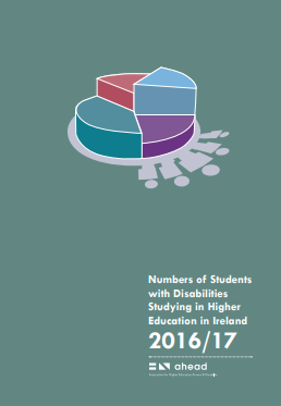 Numbers of Students with Disabilities Studying in Higher Education in Ireland 2016/17
